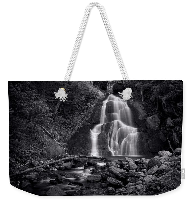 Mountain Waterfall Weekender Tote Bags