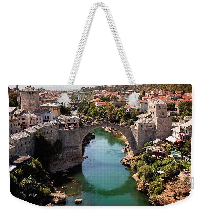 Mostar Weekender Tote Bag featuring the photograph Mostar by Blaz Gvajc