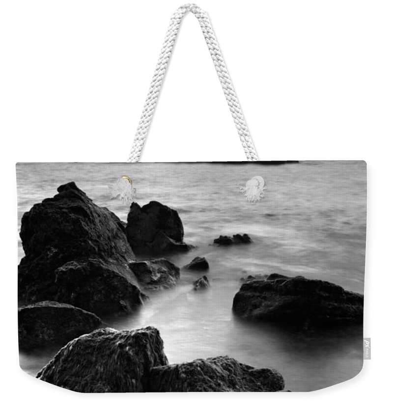 Azoren Weekender Tote Bag featuring the photograph Mosteiros Islets by Gaspar Avila
