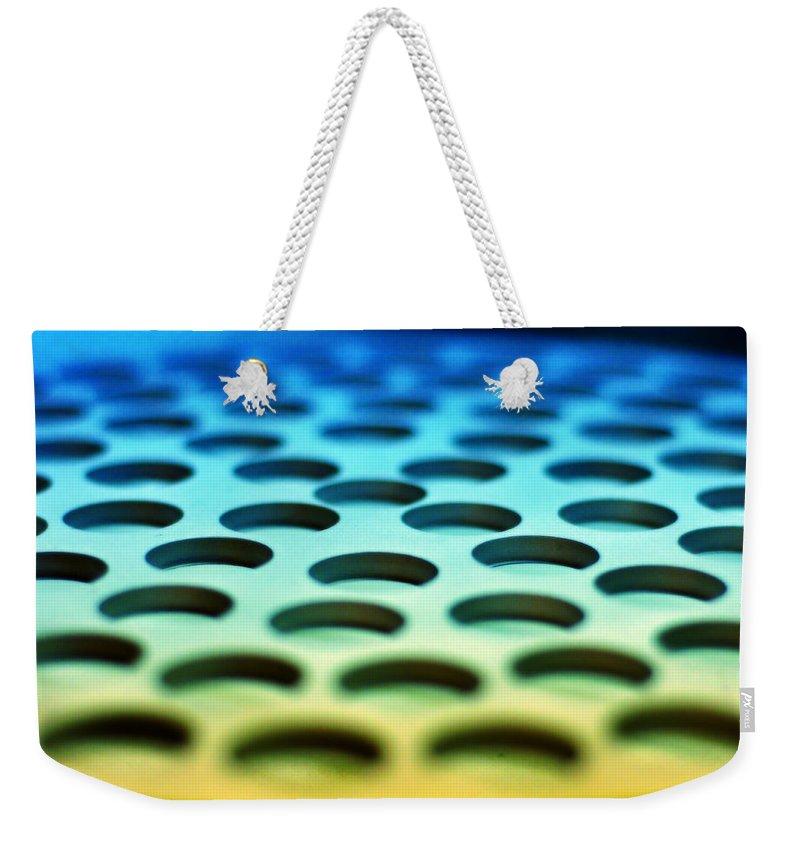 Industrial Weekender Tote Bag featuring the photograph Mothership by Skip Hunt
