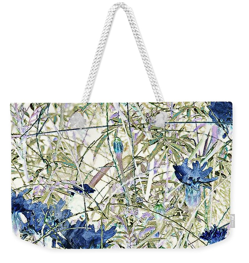 Asian Weekender Tote Bag featuring the painting Motif Japonica No. 10 by RC DeWinter