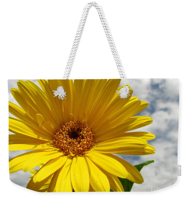 Floral Weekender Tote Bag featuring the photograph Motivation by Amanda Barcon