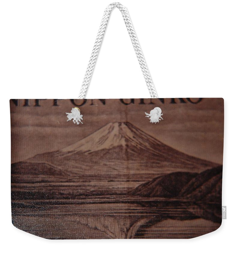 Mount Fuji Weekender Tote Bag featuring the photograph Mount Fuji by Rob Hans