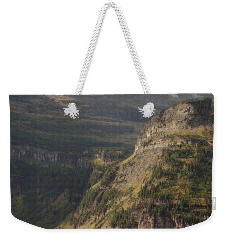 Glacier Weekender Tote Bag featuring the photograph Mountain Glacier by Richard Rizzo