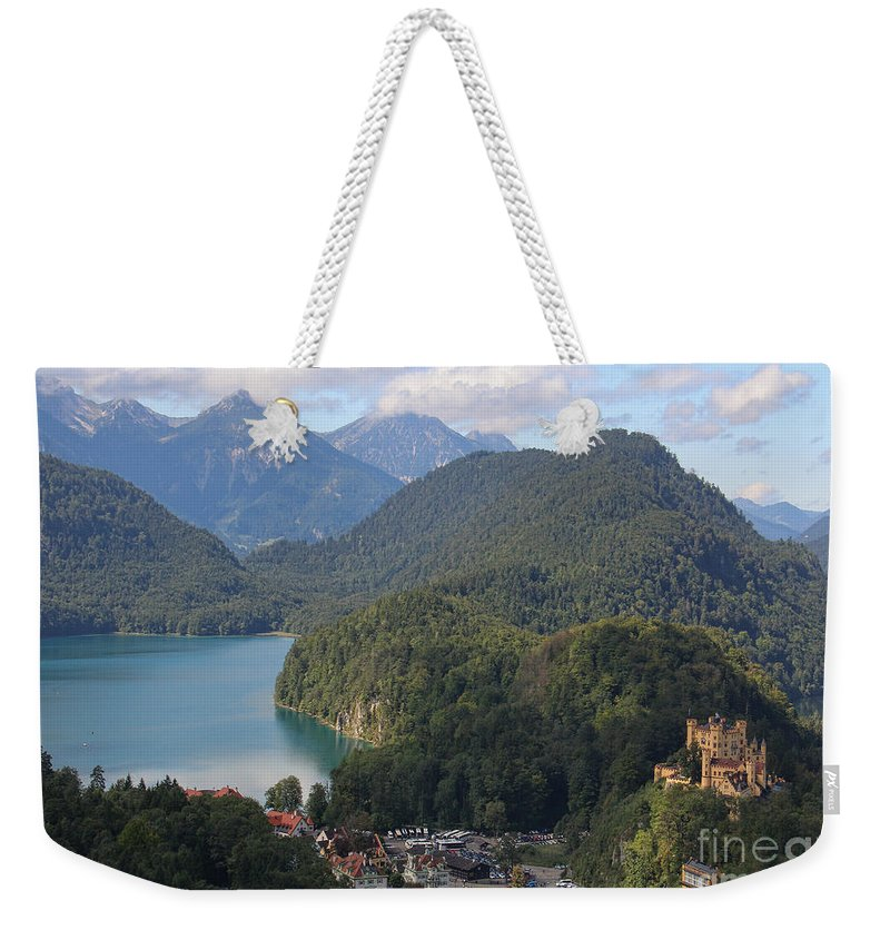 Castle Weekender Tote Bag featuring the photograph Mountain Lake by Michelle Tinger