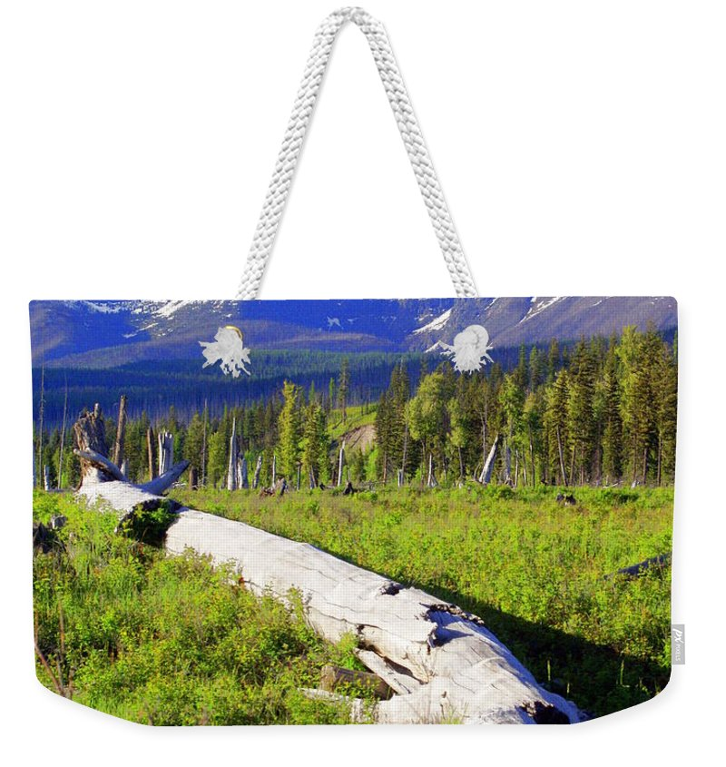 Mountain Weekender Tote Bag featuring the photograph Mountain Splendor by Marty Koch