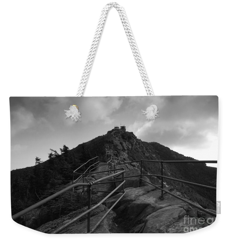 White Face Mountain New York Weekender Tote Bag featuring the photograph Mountain Trail by David Lee Thompson