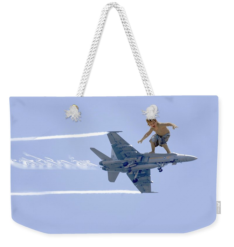 Fun Weekender Tote Bag featuring the photograph Movement Contest 1 by Jill Reger