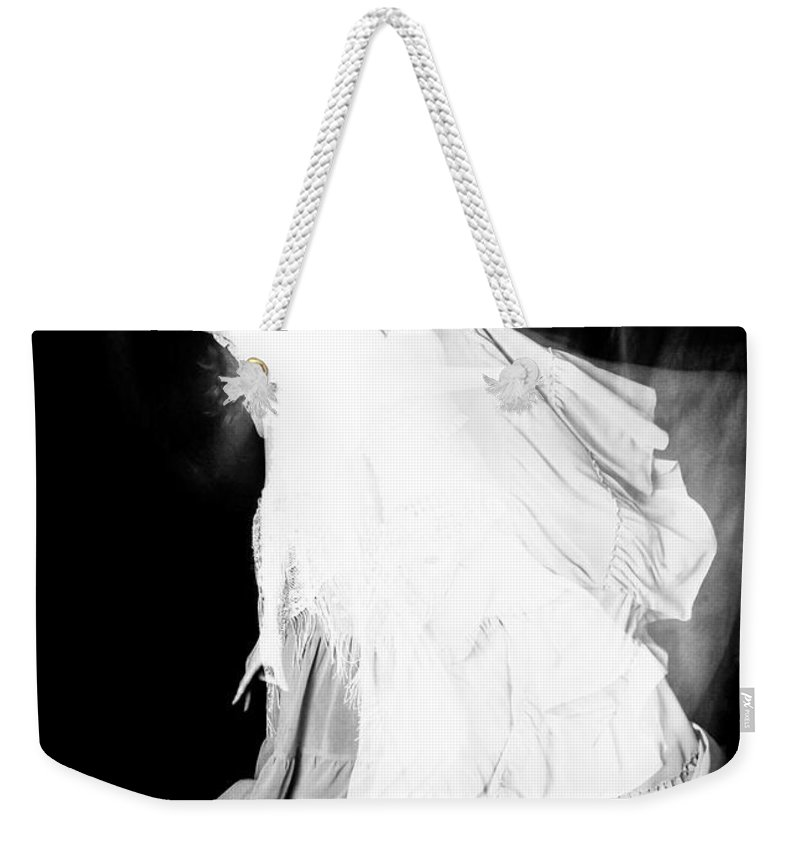 Dance Weekender Tote Bag featuring the photograph Movement by Scott Sawyer