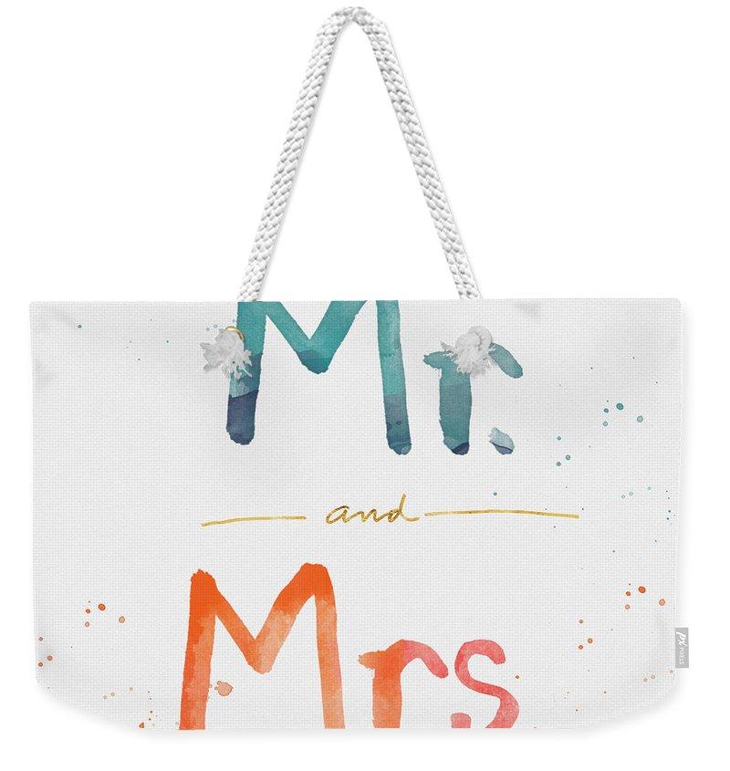 Wedding Gift Weekender Tote Bags