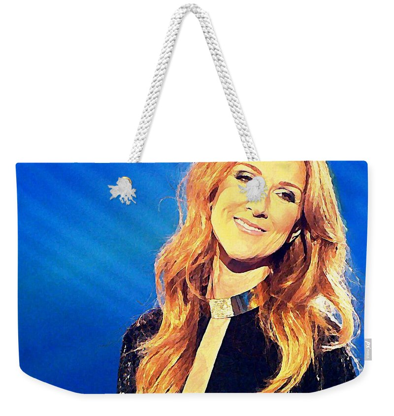 Ms. Celine Dion Weekender Tote Bag for Sale by John Malone a937a1f33c