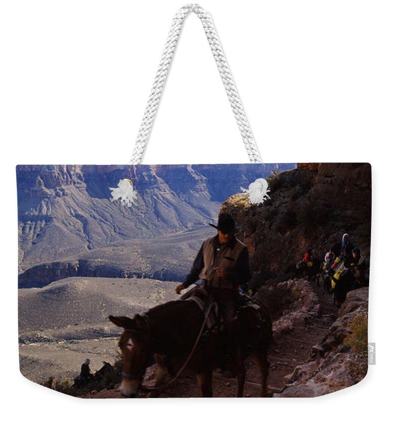 South Kaibab Trail Weekender Tote Bags