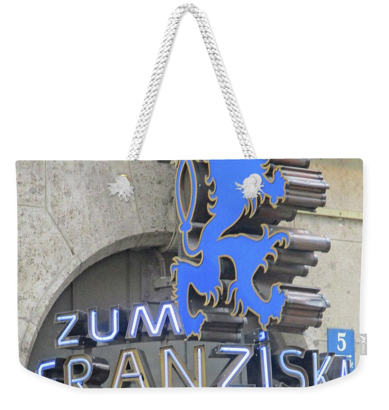 Munich Weekender Tote Bag featuring the photograph Munich Detail 2 by Randall Weidner