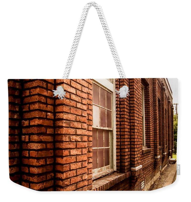 Museum Weekender Tote Bag featuring the photograph Museum Side 1 by Nick Kirby