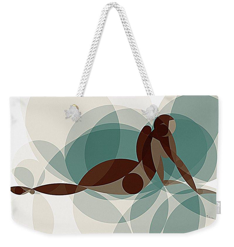 Art Weekender Tote Bag featuring the painting Music Of The Spheres #1 by Peyablo