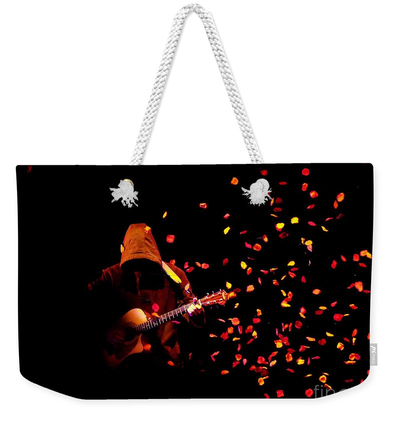 Clay Weekender Tote Bag featuring the photograph Musical Appirition by Clayton Bruster