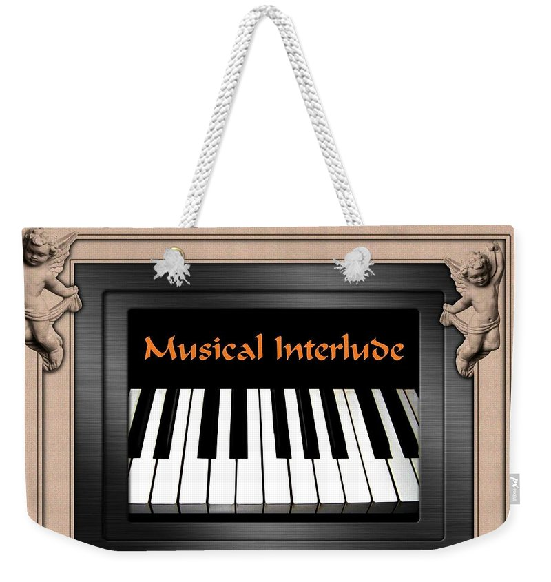Architecture Weekender Tote Bag featuring the digital art Musical Interlude by Will Borden
