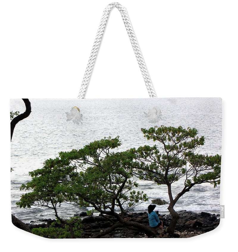Hawaii Weekender Tote Bag featuring the photograph Musings In Hawaii by Sarah Houser