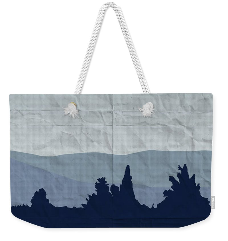 Classic Weekender Tote Bag featuring the digital art My All Your Base Are Belong To Us Meets X-files I Want To Believe Poster by Chungkong Art