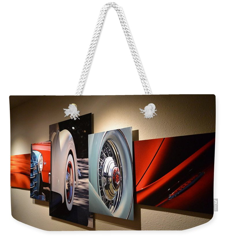 Weekender Tote Bag featuring the photograph My Art On The Wall by Dean Ferreira