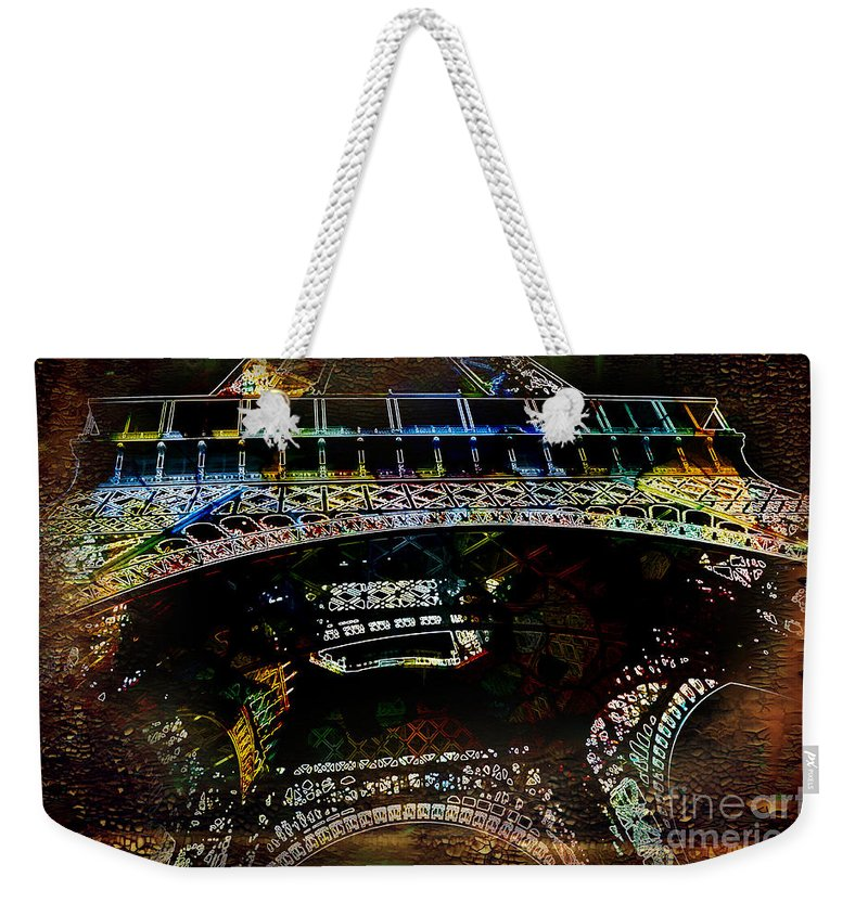 City Weekender Tote Bag featuring the photograph My Colourful Memory by Barbara Dudzinska