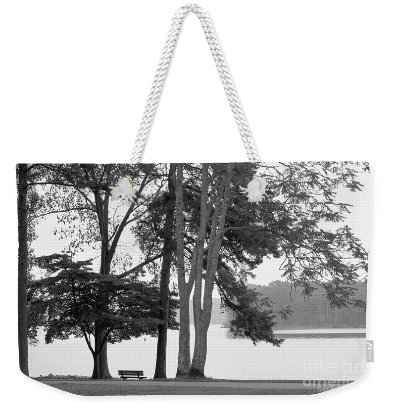 Landscape Weekender Tote Bag featuring the photograph My Favorite Place by Todd Blanchard