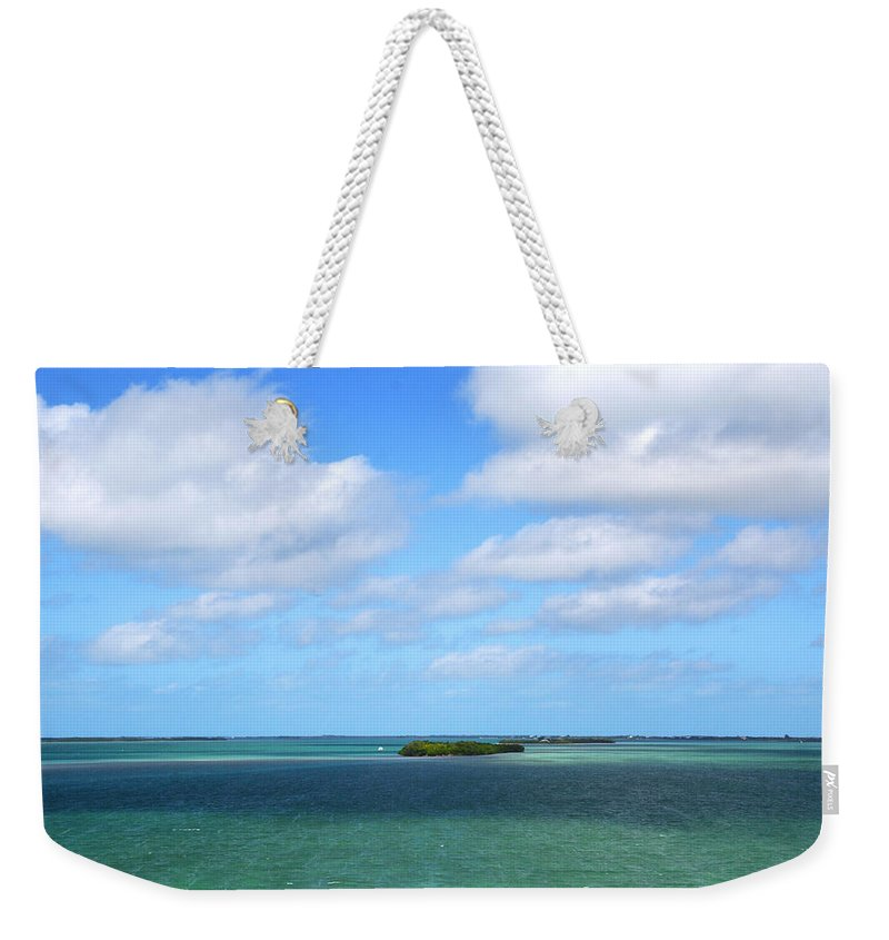 Island Weekender Tote Bag featuring the photograph My Island In The Sand by Susanne Van Hulst