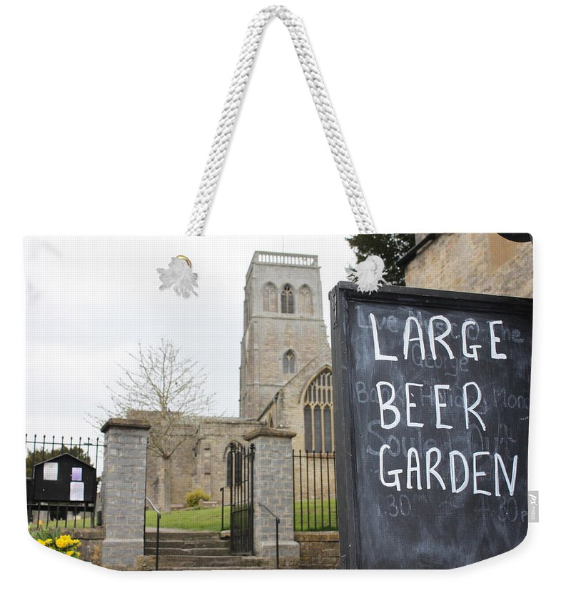 Church Weekender Tote Bag featuring the photograph My Kind Of Church by Lauri Novak