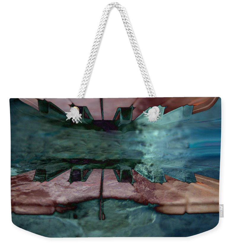 Musical Instrument Weekender Tote Bag featuring the photograph My New World by Linda Sannuti