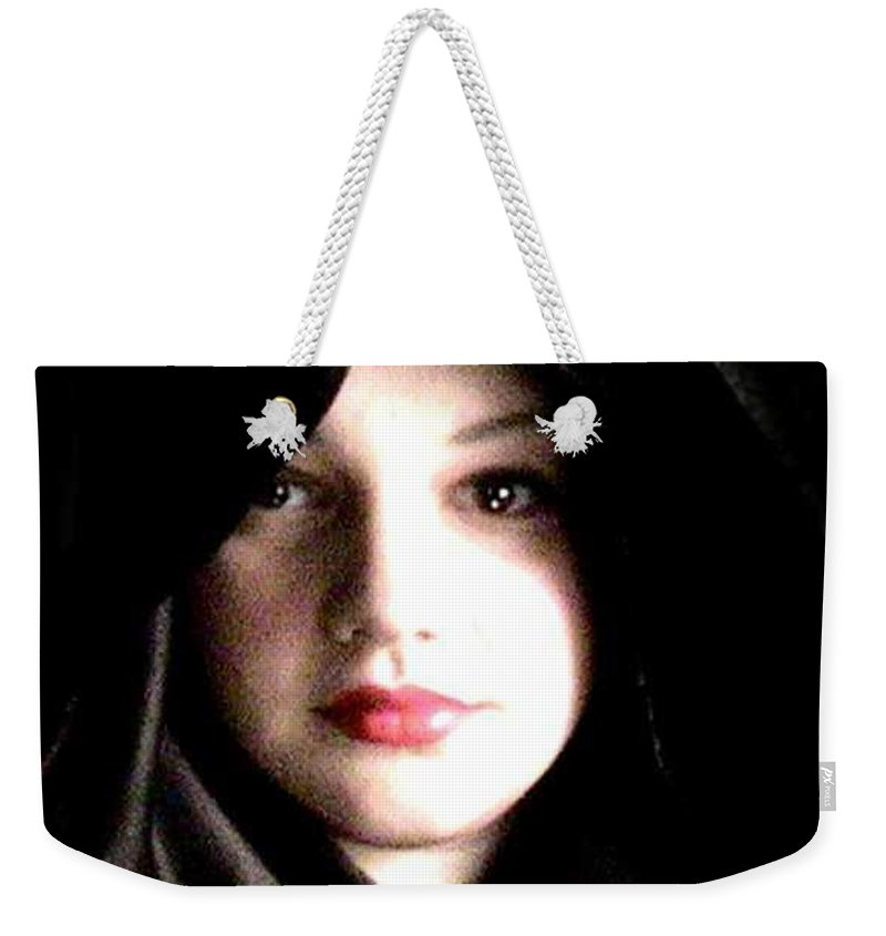 Self Photo Weekender Tote Bag featuring the photograph Myself by Scarlett Royal