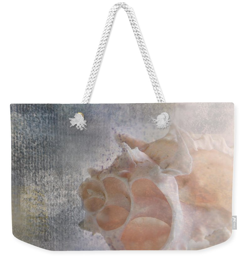 Sea Shell Weekender Tote Bag featuring the photograph Mysterious by Betty LaRue