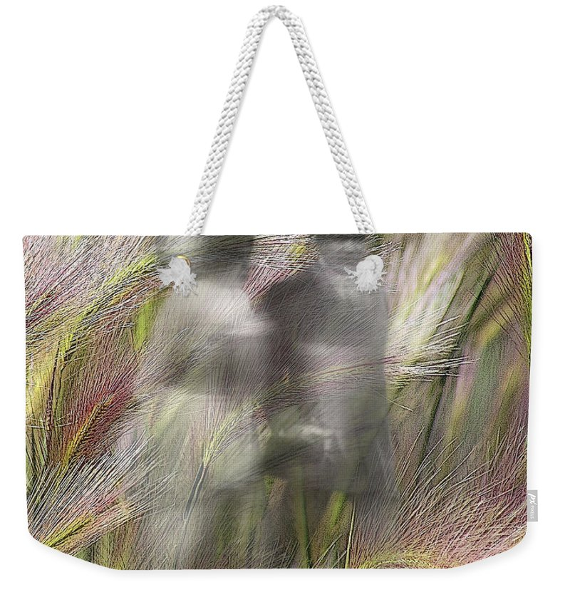 Altered States Weekender Tote Bag featuring the photograph Mysterious Couple by Marty Koch
