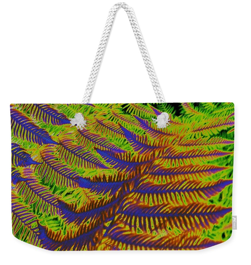 Fern Weekender Tote Bag featuring the photograph Mystic Fern by Tim Allen