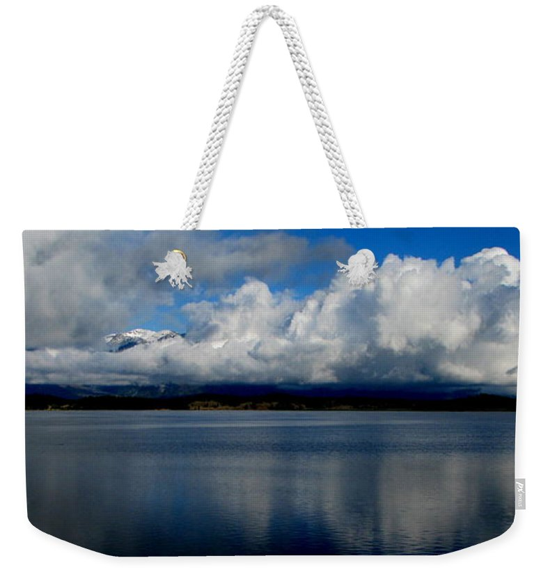 Patzer Weekender Tote Bag featuring the photograph Mystic by Greg Patzer