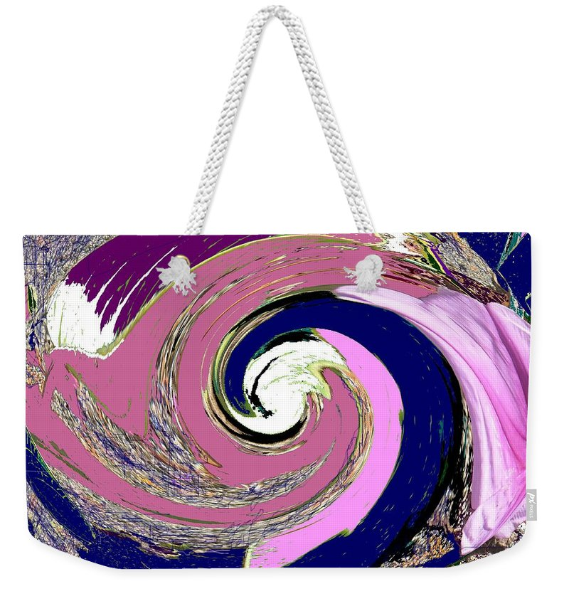 Abstract Weekender Tote Bag featuring the photograph Mystic by Ian MacDonald