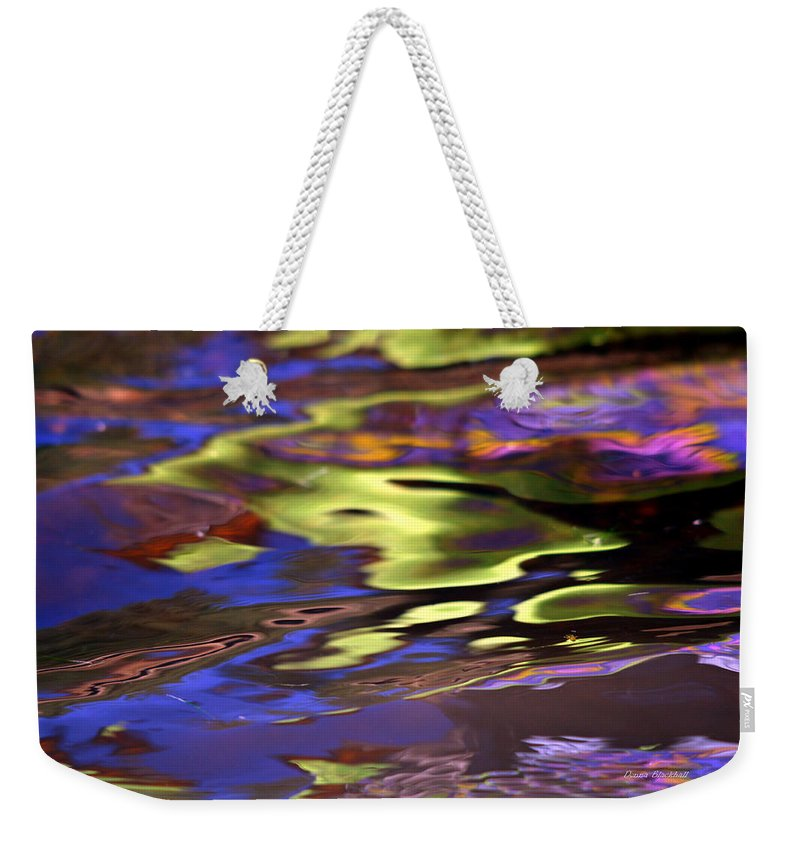 Water Weekender Tote Bag featuring the photograph Mystic Topaz by Donna Blackhall