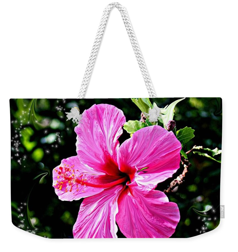Flowers Weekender Tote Bag featuring the photograph Mystical Bloom by The Art of Alice Terrill