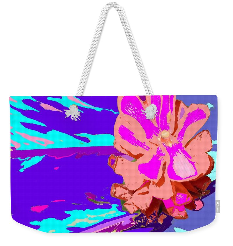 Flower Weekender Tote Bag featuring the photograph Mystical Flower by Ian MacDonald