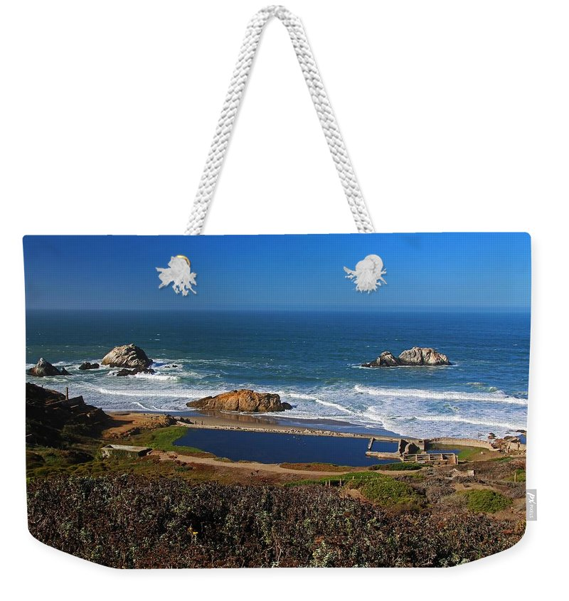 San Francisco Weekender Tote Bag featuring the photograph An Afternoon In San Francisco by Michiale Schneider