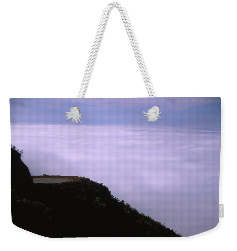 Nacimiento Road Weekender Tote Bag featuring the photograph Nacimiento Road by Soli Deo Gloria Wilderness And Wildlife Photography