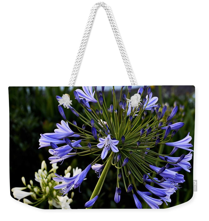 Clay Weekender Tote Bag featuring the photograph Naked Lady by Clayton Bruster