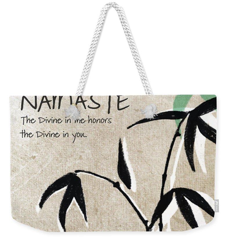 Mediation Weekender Tote Bags