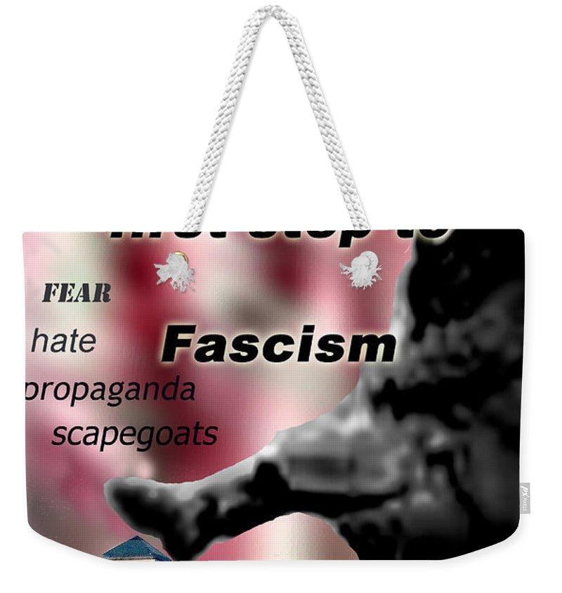 Politics Weekender Tote Bag featuring the digital art Nationalism by Steve Karol