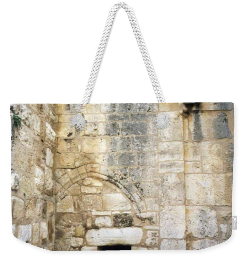 Nativity Weekender Tote Bag featuring the photograph Nativity Church by Munir Alawi