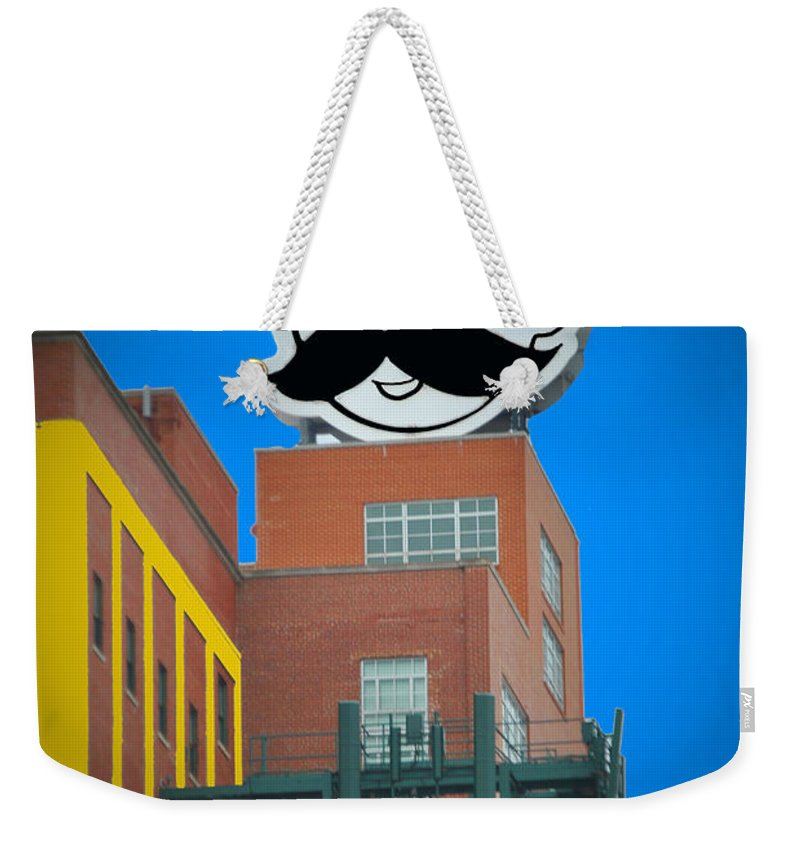 Gunther Weekender Tote Bag featuring the photograph Natty Boh Skyline by Jost Houk
