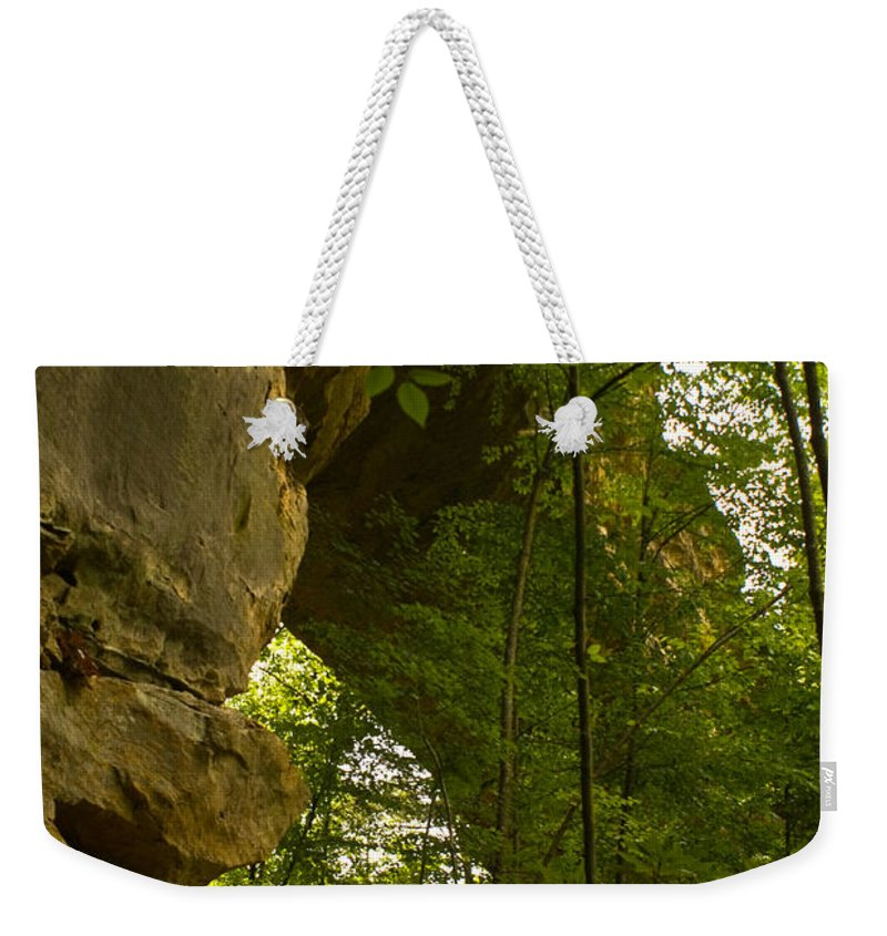 Natural Arch Weekender Tote Bag featuring the photograph Natural Arch by Douglas Barnett