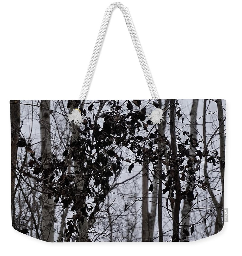 Black And White Landscape Photograph Weekender Tote Bag featuring the photograph Natural Black And White by Desmond Raymond