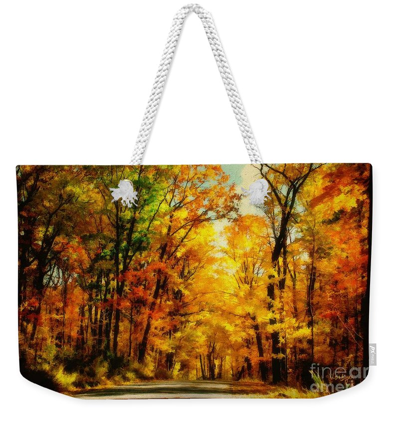 Trees Weekender Tote Bag featuring the photograph Natural Cathedral by Lois Bryan