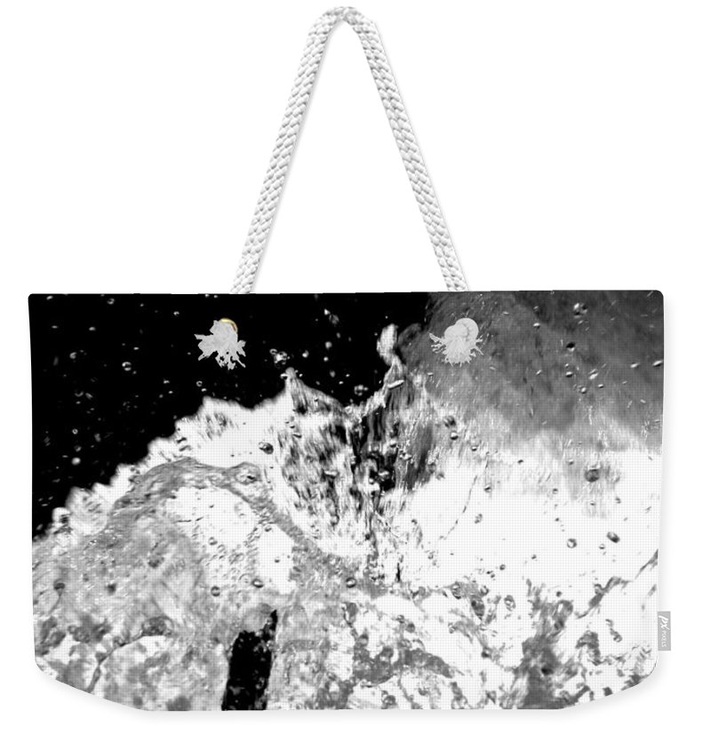 Water Weekender Tote Bag featuring the photograph Natural Power by Amanda Barcon