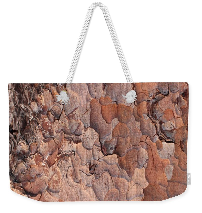 Bark Weekender Tote Bag featuring the photograph Nature Puzzle by Carol Groenen